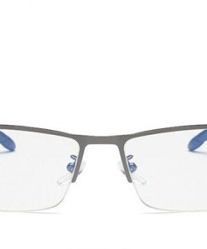 Štýlové okuliare s filtrom na prácu s počítačom v sivej farbe