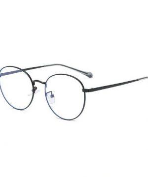 Štýlové vintage okuliare na prácu s PC s čiernym rámikom
